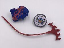 Beyblade Metal Masters C-1602A Launcher + Beyblade + Ripcord 2010 Hasbro TOMY