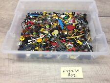Lego Lot 8oz Of All Minifig Accessories Minifigure Weapons Tools Capes 1/2 Pound