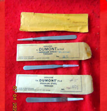 With Tip Guard & Jacket Watch Tools Watchmakers Top 3 Tweezers Group #1 #3C #5