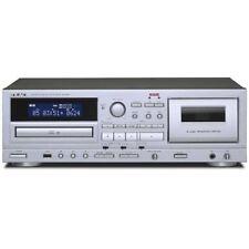 Teac Ad-850 CD cassettes cinta reproductor USB Micrófono entrada Fast Shipp