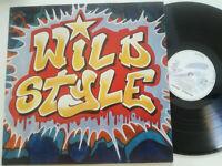 WILD STYLE OST GERMANY LP VINYL 1983 EX B-BOY HIP HOP BREAKDANCE RAP BREAKS