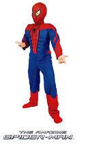 SPIDERMAN Costume bambino originale Marvel 8/10 ANNI taglia 3 -nuovo- Italia