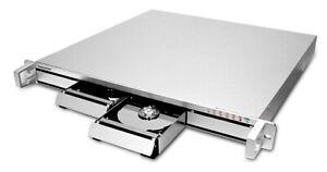 "RAIDON ST7610-4S-S2 19"" Gehäuse, 1U Rackmount-Gehäuse für 4x SATA HDD / SSD"