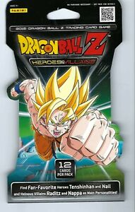 Dragon ball z trading cards  game pack