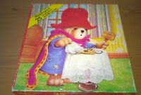 Vintage Waddingtons Paddington Bear 25 Piece Wooden Puzzle 17 x 17 cm with box
