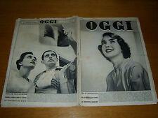 OGGI 1952/34=DON RENATO ZIGGIOTTI=FANFAN LA TULIPE FILM=MARILYN MONROE=UFO DISCH