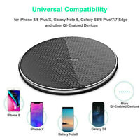 Fast Charging Wireless Charger QI-Certified 10W for iPhone 11 Pro XR,Samsung S1