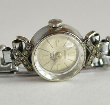 Vintage Ladies CAMY 21J Incabloc Hand Winding Swiss Made Watch Rare Antique
