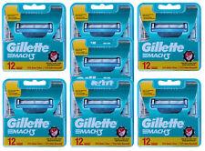 84x Gillette Mach3 Rasierklingen / 7x 12er Set = 84 Stück Klingen in OVP