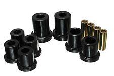 Energy Suspension Control Arm Bushing Set Black Front for 05-13 Tacoma # 8.3128G