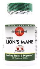 Mushroom Wisdom Super Lion's Mane + Maitake D Fraction 120 Tabs BRAIN, DIGESTION