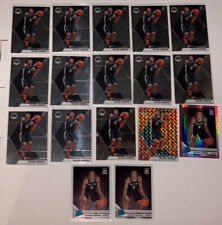 (17) 2019-2020 Keldon Johnson Panini Mosaic Optic Orange Reactive Pink Hyper Lot