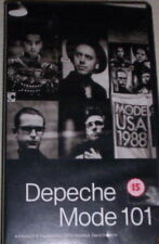 VHS MUSICALE  IN LINGUA INGLESE:  DEPECHE MODE 101
