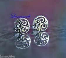 Ohrstecker ~ NUADA ~ Keltische Triskele - Silber