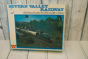 VINTAGE WHITMAN SEVERN VALLEY RAILWAY 400 PIECE JIGSAW PUZZLE COMPLETE 7714