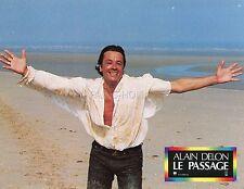 ALAIN DELON  LE PASSAGE 1986 VINTAGE LOBBY CARD