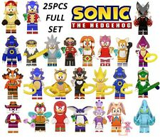 Minifigures Sonic Movie Game Pets Cartoon Fits Building Blocks Fast Delivery