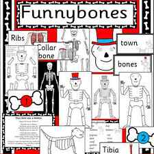 Funnybones -teacher resource on CD -story sack- ourselves, our bodies, bones