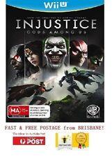 Injustice Gods Among Us Wii U Brand New PAL 100% AUSTRALIA VERSION