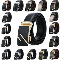 Luxury Men Metal Automatic Buckle For Leather Ratchet Belt Waist Strap Waistband