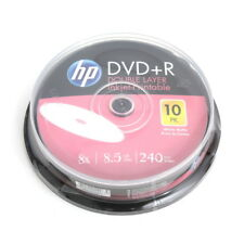 10 HP Double Layer vergini 8x DVD + R 8,5 GB printable Spindle