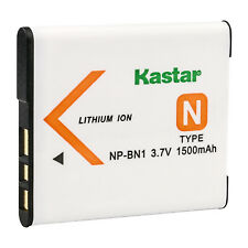 Kastar Battery Compatible with Sony NP-BN1 NPBN1 Battery and Sony BC-CSN Charger