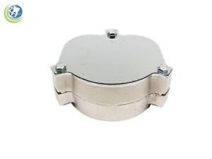 Dental aluminum flask for laboratory spring press compress and denture prepare