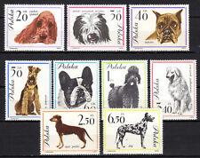 Poland - 1963 Dogs - Mi. 1374-82 MNH