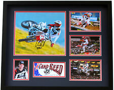 New Chad Reed Signed Limited Edition Memorabilia