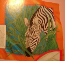 Zebra  GUTTA-SEIDENTUCH 55X55 Habotai 8