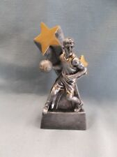 gold male Basketball statue trophy resin marco superster Rss103