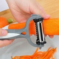 VEGETABLE CARROT FRUIT POTATO ROTARY PEELER CARROT CUTTER SLICER KITCHEN GADGET