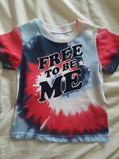 -Free To Be Me- Tie-dye 2T unisex