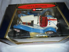 1932 ALFA ROMEO 2300 SPIDER TOURING 1:18 DIECAST CAR BY BBURAGO Die Cast Toy