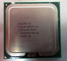 E6300 Intel Core 2 Duo 1.86GHz 2mb 1066MHz LGA775 Processor - SLA5E