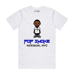Pop Smoke - The Woo Noequal Baby Milo style T-shirt Vlone Bape Supreme