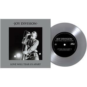 Joy Division 'Love Will Tear Us Apart' USA imp LTD SILVER Vinyl 7' * IN STOCK UK