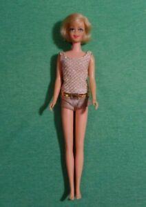 Vintage Barbie Doll - Vintage Blonde Casey Doll