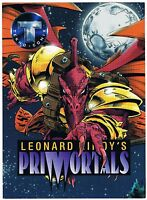 1995 Tekno Comix Leonard Nimoy's Primortals Promo Card Oversized