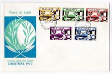 Malawi FDC 1970 Christmas 1970 Peace on Earth first day cover postal history