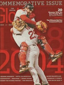 BOSTON RED SOX BOSTON GLOBE MAGAZINE  2004 WORLD SERIES ISSUE CURSE OF BAMBINO