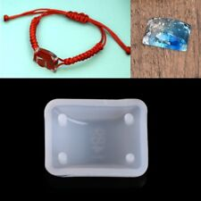 Square DIY Silicone Mould Craft Mold For Resin Necklace Jewelry Pendant Making