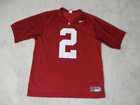 Nike Stanford Cardinal Football Jersey Adult Extra Large Red White College Mens