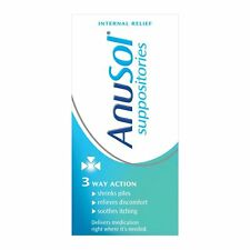 Anusol 12 Suppositories Treatment for Haemorrhoids