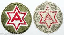 Patch original WWII USA 6th Army ( 108 )