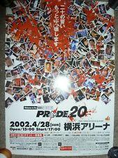 Pride Fc 20 B3 Poster UFC MMA RIZIN Crocop Henderson Rampage Wanderlei Nogueira