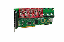 OpenVox A800P05 8 Port Analog PCI Base Card + 0 FXS + 5 FXO, Ethernet (RJ45)