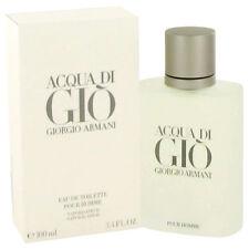 Georgio Armani Acqua Di Gio Cologne 3.4 oz Eau De Toilette Spray (Original)