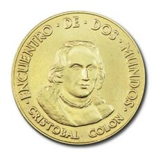 Spain 500th Anniversary Columbus Medal 1992 BU Encuentro De Dos Mundos