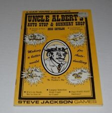 Car Wars Uncle Albert's Auto Stop & Gunnery Shop 2035 Catalog VF steve jackson